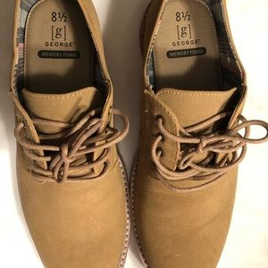 Men's George Memory Foam Casual Shoes, Size 8 1/2